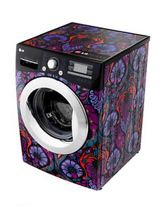 LG Electronics (LG), Official Garment Care Supplier to London Fashion Week, has partnered with celebrated British fashion designer Giles Deacon to launch a limited edition washing machine. Small Washing Machine, Washing Machines, Giles Deacon, House Furniture Design, 3d Tvs, Lg Electronics, Machine Design, Smart Home, House