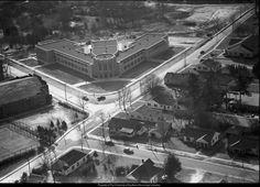 Hawkins Junior High School in the 1950's