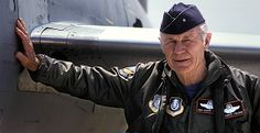 USAF fighter pilot, test pilot, aviation pioneer and American hero, General Chuck Yeager