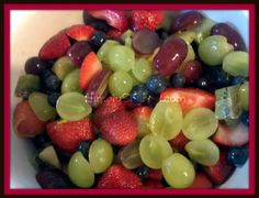 Simple Fresh Fruit Salad