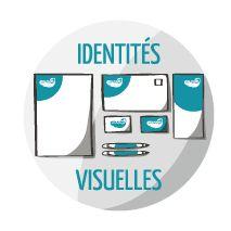 Identités visuelles Créa-Plume Design Graphique. Conception de supports de communication crea-plume.com