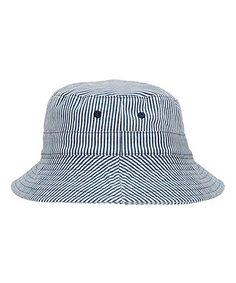 Ticking Stripe Fisherman Hat