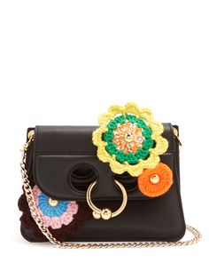 Pierce mini crochet-appliqué cross-body bag | J.W.Anderson | MATCHESFASHION.COM UK