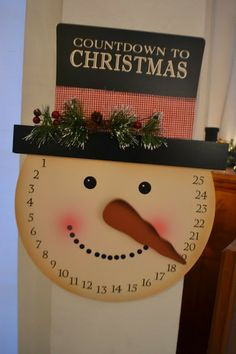 DIY – Countdown to Christmas