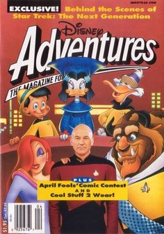 """I had just about all of these as a kid. 25 Very '90s """"Disney Adventures"""" MagazineCovers"""