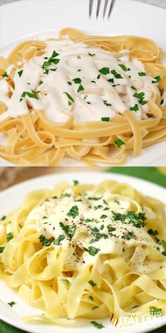 Olive Garden Copycat Alfredo Sauce The decadent creamy Alfredo sauce from Olive Garden can now be enjoyed in your own home with this scrumptious copycat recipe loaded with cheese, cream and a special ingredient to really take it over the top. Copycat Olive Garden Alfredo, Olive Garden Alfredo Sauce Recipe With Cream Cheese, Olive Garden Alfredo Sauce Recipe Copycat, Cream Sauce Pasta, Easy Pasta Sauce, Pasta Sauce Recipes, Easy Pasta Recipes, Creamy Sauce, Restaurant Recipes