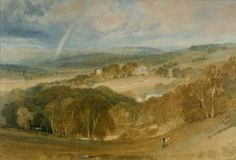 Joseph Mallord William Turner 'The Vale of Ashburnham', c.1816 -  Watecolour on paper -  Dimensions Support: 362 x 550 mm -  © University of Liverpool Art Gallery