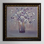 Flower in Vase Floral Framed Oil Painting – AUD $ 177.08