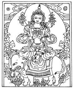 Elephant Buddha Symbol | Symbols for Buddhism - Free and Printable Buddhist Symbols
