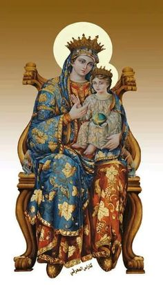 Virgin Mary & Baby Jesus