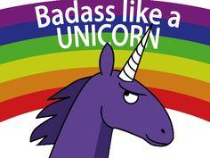badass unicorns | Kristell Ink