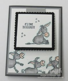 Fun Fold Cards, Folded Cards, Cute Cards, Card Making Tutorials, Making Ideas, Dawns Stamping Thoughts, Stampin Up Karten, Stamping Up Cards, Animal Cards
