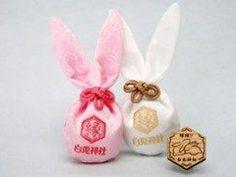 鳥取県の白兎神社のお守りが超可愛い 因幡のしろうさぎにちなみうさぎの形の袋に入っています 鳥取に行った時には買ってみてね tags[鳥取県]