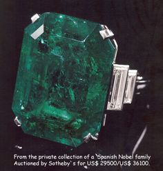 History and General Information of Natural Emerald Gemstone