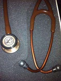 Littmann Cardiology III Chocolate-Cobre