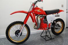 1978 DG HONDA CR250R ELSINORE  I want one!