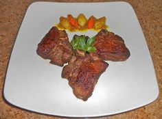 Chef JD's Comfort Cuisine: Grilled Lamb Loin Chops with English Mint Sauce