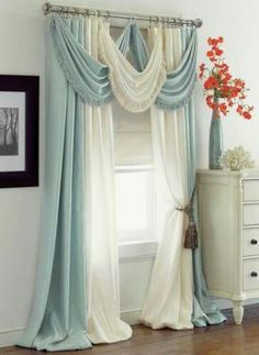 Diy Curtains, Bedroom Curtains, Blackout Curtains, Cool Home Decor, Big  Homes, Beautiful Curtains, House Pics, Curtain Ideas, Curtain Designs