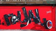Royal TS – moderne urbane Kunst als Wandgestaltung   Superflu -