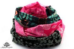 Rundschals von Lieblingsmanufaktur: Farbenfrohe Loop Schals, Tücher und mehr auf DaWanda.com