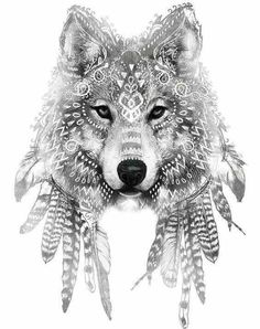 feather wolf