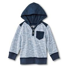 Toddler Boy's Hoodie - Charcoal 4T