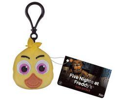 Llavero peluche Pollo Chica. Five Nights At Freddy's Funko  Llavero peluche del personaje pollo Chica, visto en el videojuego Five night at Freddy's.