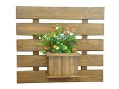 floreiras de madeira de parede - Pesquisa Google