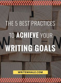 How to achieve your writing goals this year. 5 ways to stick to your resolutions and stay motivated all year long. Writing advice | writing tips | motivation | achieve goals | goal setting | productive via @lizrufiange