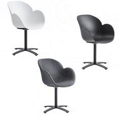 Casö Delux stol - vit/svart eller grå