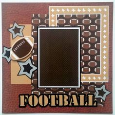 Image result for football scrapbook layouts