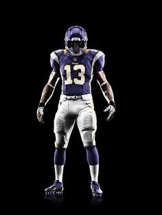 New Nike Vikings Uniforms