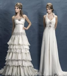 I like the one one on the right, I'm not sure about the left because of the ruffles...