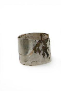 Rudolf Kocéa - bracelet, 2011, silver, copper, gold - 63 x 81 x 69 mm