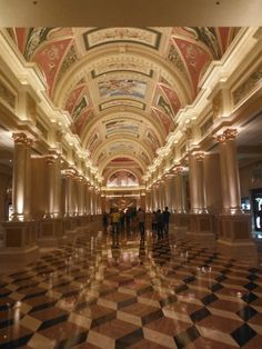 The elaborately decorated Venetian hotel in Macau, China. anntardiffphotography.blogspot.com