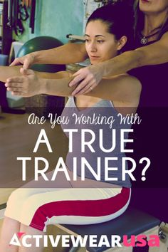 Are You Working With A True Trainer? A certified professional is the best choice for your health and well-being. #fitness #trainer