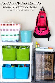 Garage Organization: Outdoor Toys