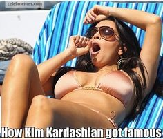 Pin for Later: Kim Kardashian Memes to Cure Any Bad Day Oh snap. Memes Kardashian, Kim Kardashian, Memes Do Momento, How To Get Famous, Haha Funny, Funny Memes, Funny Stuff, Funny Things, Chistes