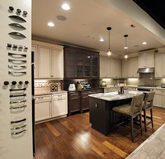 Essex Homes Charlotte Design Studio Kitchen Displays Design