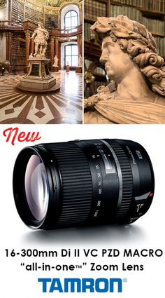 """Enter to win a 16-300mm Di II VC PZD MACRO """"all-in-one"""" zoom lens from Tamron at iHeartFaces.com! (giveaway ends June 15, 2014)"""