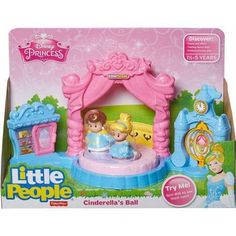 Fisher-Price Disney Princess Cinderella's Ball by Little People