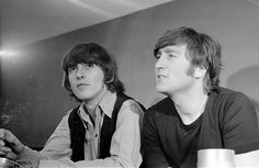 John Lennon and George Harrison (Interview)