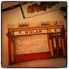 Love Irish Pub Art, some of my Irish Pub Shopfront, Love sketching & painting so much. Sketches Of Love, Pub Design, Sketch Painting, Building Design, Sketching, Craftsman, Entryway Tables, Irish, Custom Design