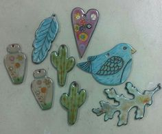 Love the blue leaf and the cactus! Those are my favs. Pic via facebook.