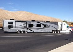 luxury 5th wheel with office space - Google Search
