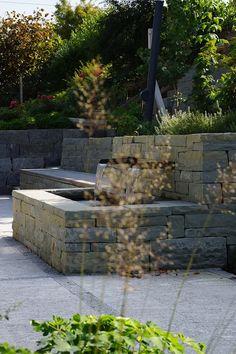 #Trockenmauer Rohrschacher Sandstein, Fugenklasse I / #Drystonewall #masonry