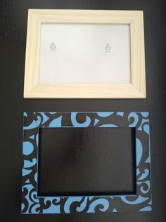 mod podge picture for kysens room. plain wood frame from ikea, paint it, mod podge your scrapbook paper on top. way cute.  ...