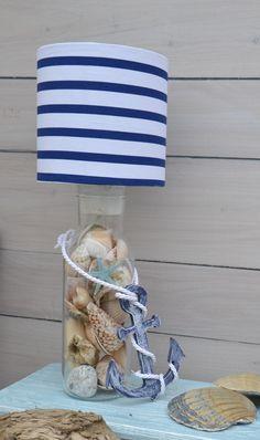 Lampa stołowa / lampka nocna Morze - PracowniaJabloniee - Lampki