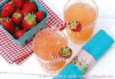 Fresh Strawberry Garden Party Recipes: Strawberry Lemonade, Strawberry Spinach Salad, Strawberry Trifle