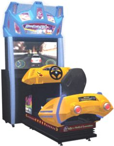 Street Racing Stars Air Series Motion Simulator Video Arcade Game | From Injoy Motion |   Get more information about this game at: http://www.bmigaming.com/games-catalog-injoy-motion.htm